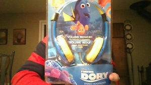 IN BOX, FINDING DORY STEREO  FOR KIDS HEADPHONES