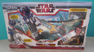 Star Wars Tri Droid Attack Set with Anakin Jedi Starfighter