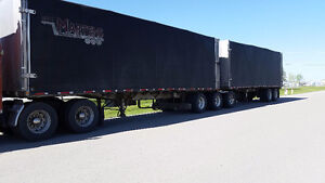 Extrawide/long load king super b rolltop trailers