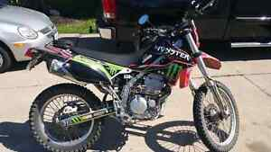 Street legal 09 kawasaki klx250s 2000.00 would like to sell asap