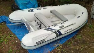 10' Highfield Aluminum Hull Inflatable Dinghy 2016 (Like New)