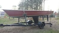 Further reduced! 18ft daysailor, fun, fast and easy to launch