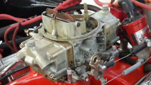 750 holley double pumper carb $200
