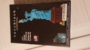 Nanoblock statue of liberty BNIB  650 pieces