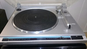 JVC Record player and Kenwood AV Receiver Windsor Region Ontario image 2