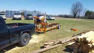 Portable Sawmilling services right to your door! Kawartha Lakes Peterborough Area image 5