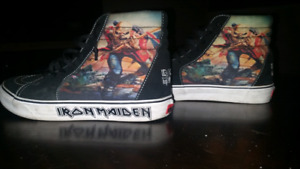 Vans shoes Iron Maiden trade for bmx parts