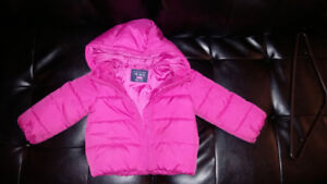 Pink Puffer Jacket from The Children's Place size 2T