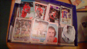 8,000 Hockey & Baseball Cards For Sale Or Trade