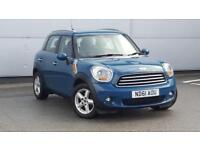 2011 MINI Countryman 1.6TD Cooper D Diesel blue Manual