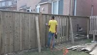 Looking for general labor/sodding/ interlocking/fencing