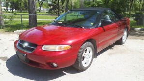 1997 Chrysler JXi Convertible - Safetied! Only 132kms- $3999!!!!