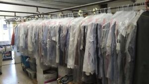 DRY CLEAN business for sale with coin Laundromat (downtown east)