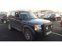 2005 05 LANDROVER DISCOVERY 3 2.7 TDV6 S . GREAT COLOUR.TIMING BELT DONE.FSH .