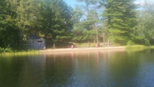Beautiful land and cottage for Sale on Gull Lake, Minden
