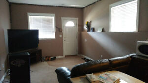 3 Bedroom Basement Apartment Available Aug. 1st