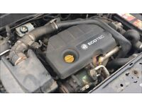 2004-2009 VAUXHALL ASTRA 1.7 CDTI Z17DTH COMPLETE ENGINE WITH ANCILLARIES 89,000 MILEAGE