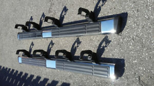 2 used 2009 chevy silverado chrome running boards.