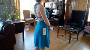 Short Blue Dress, special occasion, wedding, semi formal
