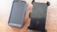 Samsung Galaxy Note 2 with Otterbox + 2 spare batteries