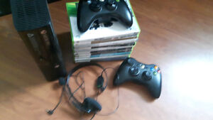 360 Elite   10 Games  2 controllers.