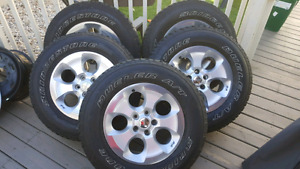 Jeep wheels and tires