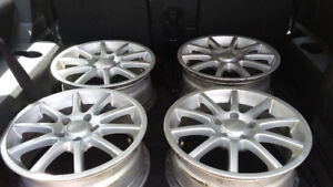 Rims 16 inch, 5 nuts