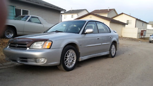 2002 subaru legacy gt awd CLEAN CAR 190ks $2575Call587-707-7871