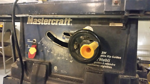 Mastercraft 10 inch table saw