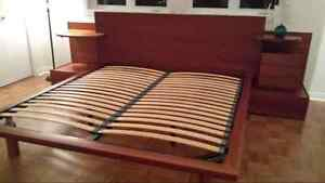 Queen/king size bed  for sale