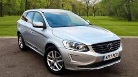 Volvo XC60 2.0TD ( 190bhp ) ( s/s ) 2017MY D4 SE Lux Nav SILVER Manual