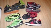 4 Pairs of Boys Size 13 Sneakers