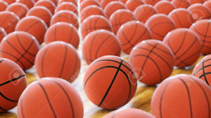 Excellent condition used basketballs