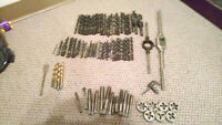 Machining drill bits and some extra tap and die tools