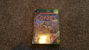 X BOX game conkers