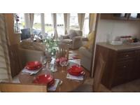 2014 Delta Buena Vista 2 bedroom static caravan for sale on Pendine Sands