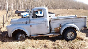 1949 Dodge Fargo 1 ton trade for dirt bike or quad
