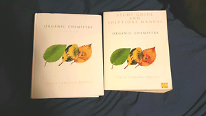 Organic Chemistry textbook with study guide