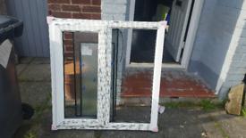 pvc double window