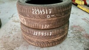 Pair of 2 Semperit Speed Grip 225/45R17 WINTER tires (40% tread