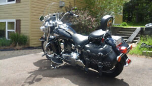 2009 Heritage Softail 6 speed