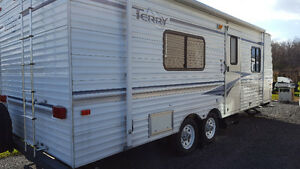 Terry 26 foot trailer