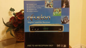 brand new Nfusion Nova Digital Satellite Receiver FTA