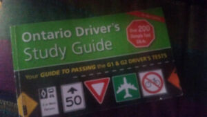 Book for ontario driver's licence G1  written test