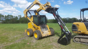 skid steer hoe attachment