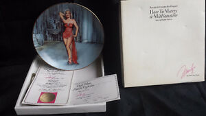 How To Marry A Millionaire Collectors Plate Stratford Kitchener Area image 1