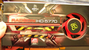 ATI Radeon™ HD 5770 Graphics Card