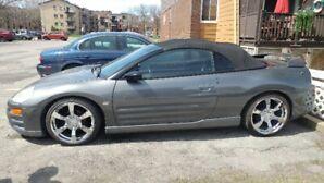Mitsubishi spyder GT eclipse décapotable 2003