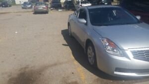 2008 Nissan Altima 2.5s Coupe (2 door) would like it gone