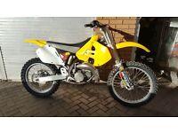Suzuki rm 125 not yz kx cr Ktm motocross bike